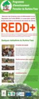 Derouleur Présentatif des réalisations du processus REDD+ du Burkina Faso